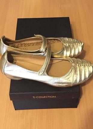 Оригинальные женские кожаные туфли, tj collection, р-37 /24
