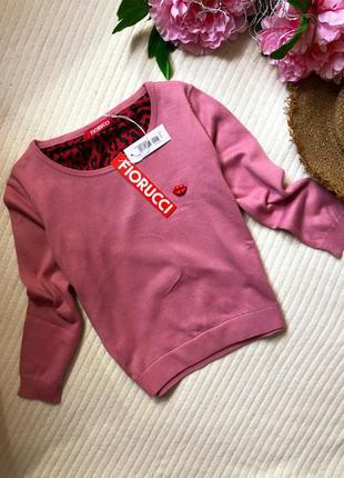 Укорочённый свитшот , свитер