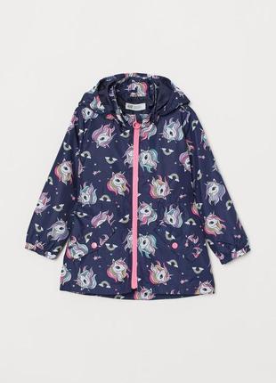 Ветровка, куртка летняя, парка для девочки 2-3года