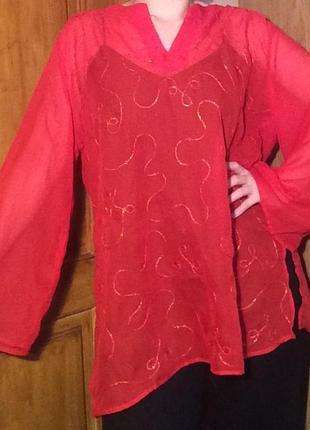 Блуза,блузка,прозрачная накидка на купальник,рубашка