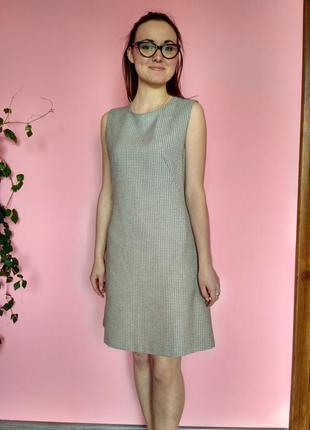 Платье в клетку marks & spencer
