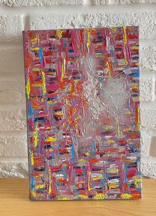 Картина яркость loft абстракция