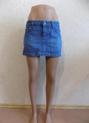 Юбка джинсовая фирменная only размер 42-44