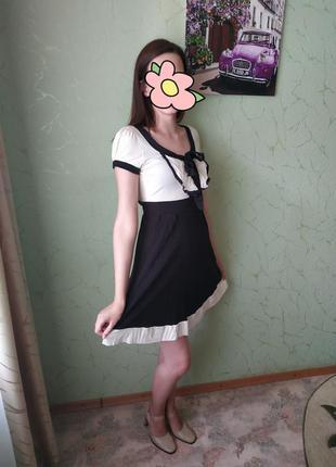 Милое платье с бантиком