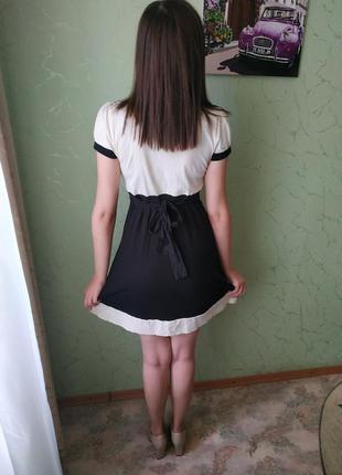 Милое платье с бантиком2 фото