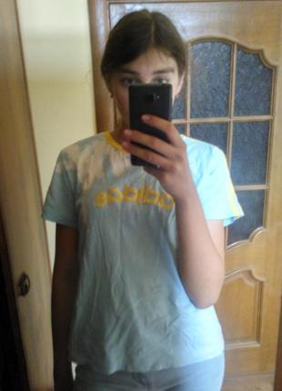 Тай дай футболка футба tie-dye adidas  оригинал 3...d-91074 ретро винтаж котон