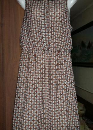 Платье шивоновое