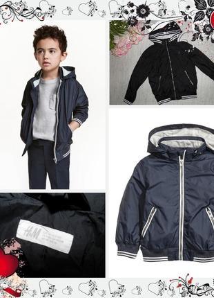 Обнова! новая куртка ветровка h&m (р.140 на 9-10 лет) курточка