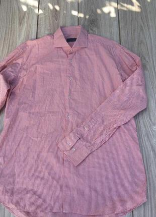 Стильная актуальная рубашка suit supply brooms zegna lux