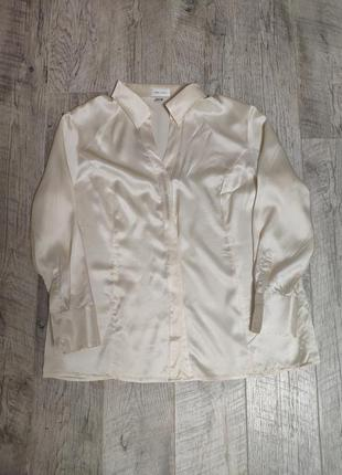 Шовкова блуза з натурального шовку сорочка