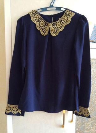 Рубашка шифон, блуза люкс качество