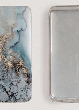 Чехол для xiaomi redmi 7a. cиликоновый бампер с матовым качественным принтом2 фото