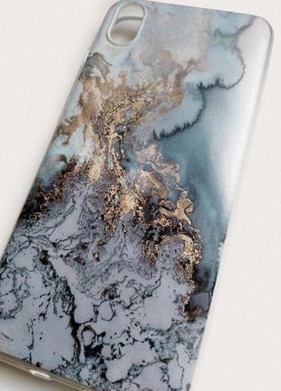 Чехол для xiaomi redmi 7a. cиликоновый бампер с матовым качественным принтом3 фото