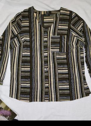 Блуза большого размера 20р блузка блузочка