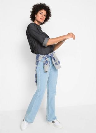 Супер удобные джинсы подтягивающие живот, высокая талия! bonprix