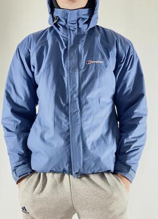 Фирменная водоотталкивающая куртка с утеплителем berghaus aquafoil