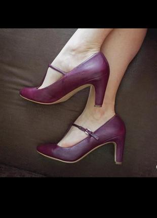 Ecco оригинал, изумительние туфельки, натуральная кожа
