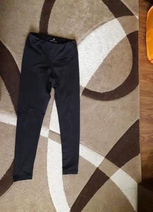 Лосины штаны для фитнеса теплые