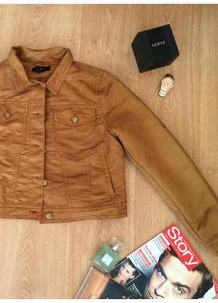 Куртка рыжая h&m