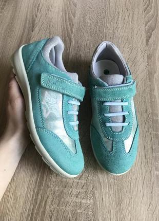 Bama 33 р кожа кросівки туфлі кроссовки туфли