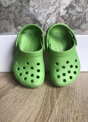 Crocs 21 22 р кроксы крокс шлепки босоножки