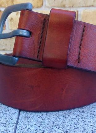 Кожаный ремень из натуральной кожи буйвола g-star raw