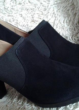 Замшевые туфли geox respira