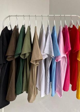 Базовые крутые футболки 100% хлопок🔝🔥
