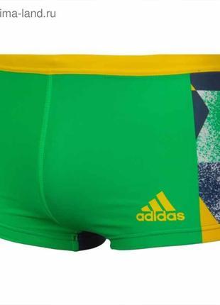Плавки для плавания adidas ri art bx green