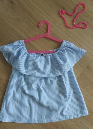 Блуза футболка блуза майка h&m xs 34