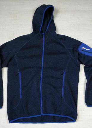 Флисовая кофта куртка berghaus xxl размер