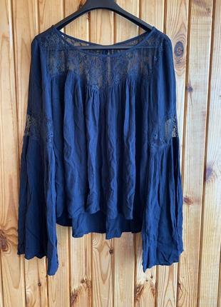 Ажурная воздушная блуза блузка