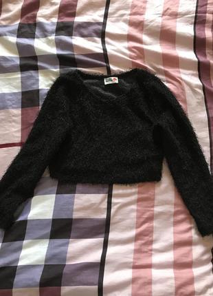 Топ, укороченный свитер