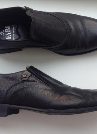 Fabi italy 42 р кожа туфлі туфли италия