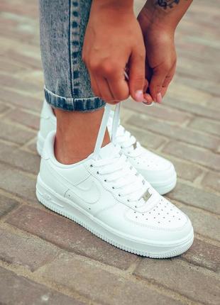 "Nike air force 1 low ""white""🔺женские кроссовки найк белый🔺36-40"