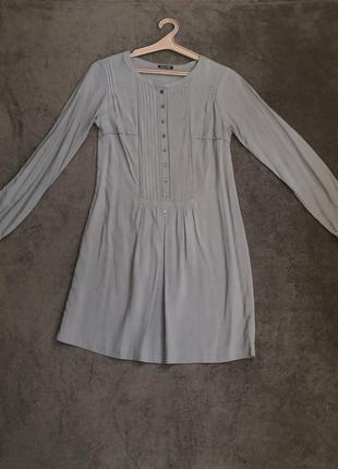 Платье massimo dutti 100% шелк