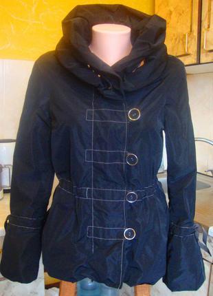 Куртка ветровка черная easy comfort размер 34/36 xs/s
