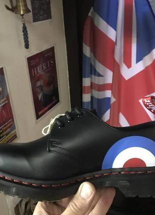 Туфлі dr.martens 1461 original who original black target smooth leather .унісекс .