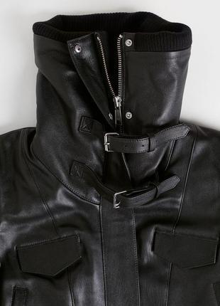💥💥 эксклюзивная кожаная куртка от h&m studio5 фото