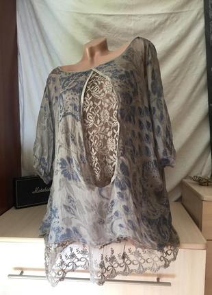 Итальянская блуза / рубашка / туника / футболка / майка
