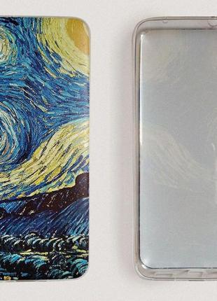 Чехол ван гог для xiaomi redmi 7a. «звездная ночь» ван гог чехол. силиконовый чехол2 фото