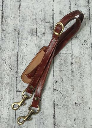 Крепкий плечевой ремень для дорожной сумки, натуральная кожа