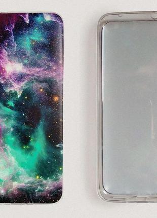 Чехол космос для xiaomi redmi 7a. силиконовый бампер на телефон2 фото