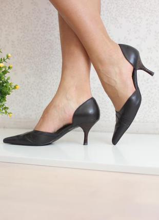 Кожаные туфли дорсей, натуральная кожа, бренд next