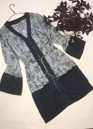 Lindex сатиновый кардиган кимоно