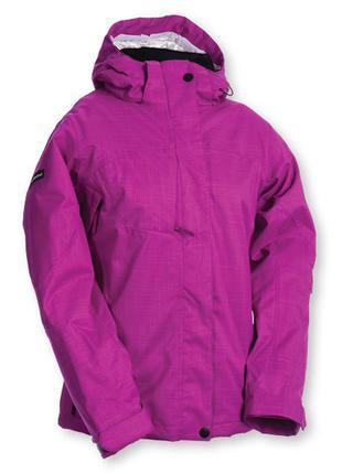 Спортивна лыжная сноубордичесская  куртка crivit розовая малиновая