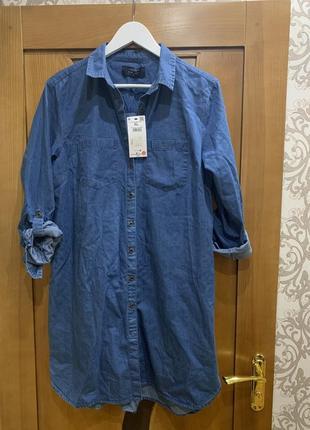 Джинсовое платье новое house l-xl