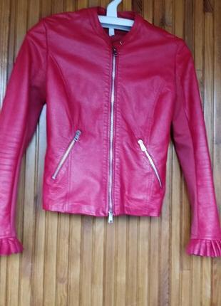 Продам кожаный пиджак imperial