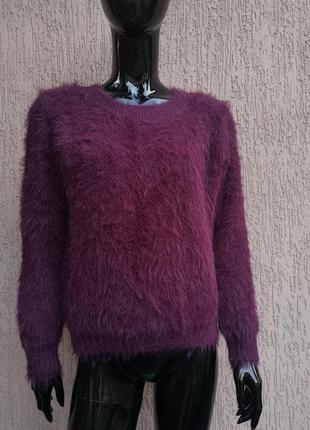 Тёплый свитер пушистик select