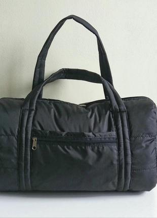 Спортивная дорожная легкая сумка бочонок ручная кладь дутик